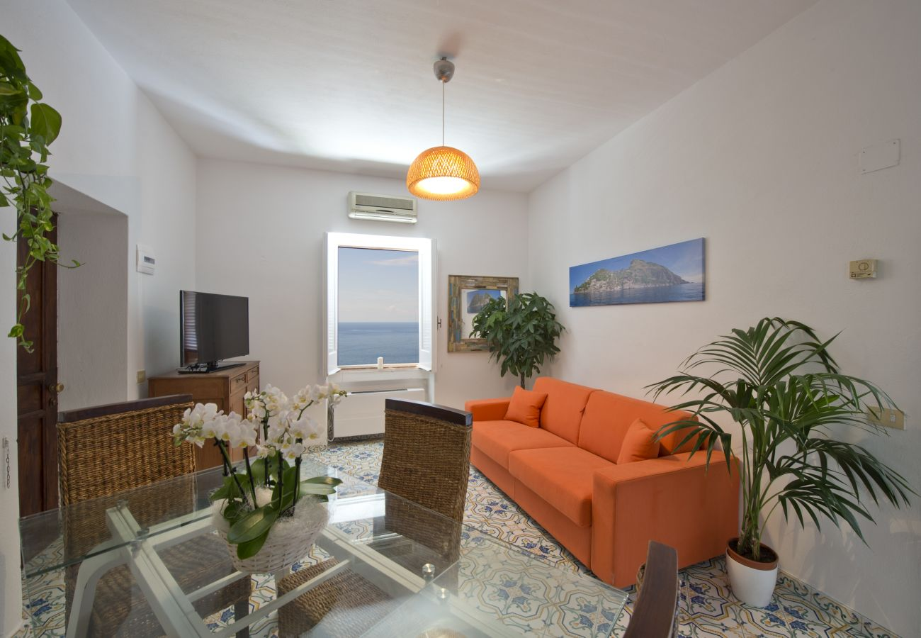 House in Praiano - Casa Sunset - Water front panoramic terrace