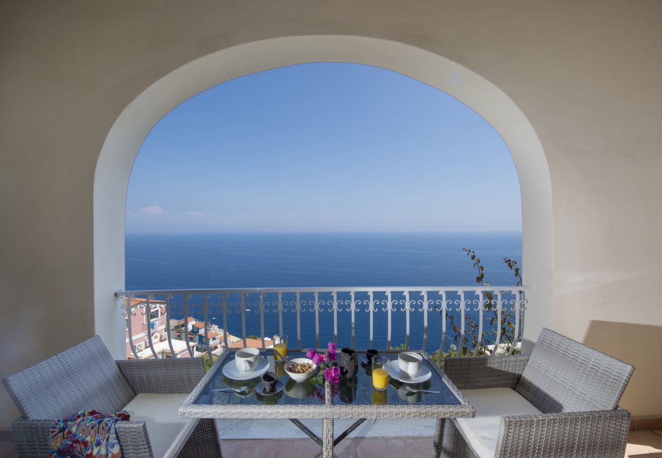 House in Praiano - Villa San Giovanni - Breathtaking garden and terrace Sea View