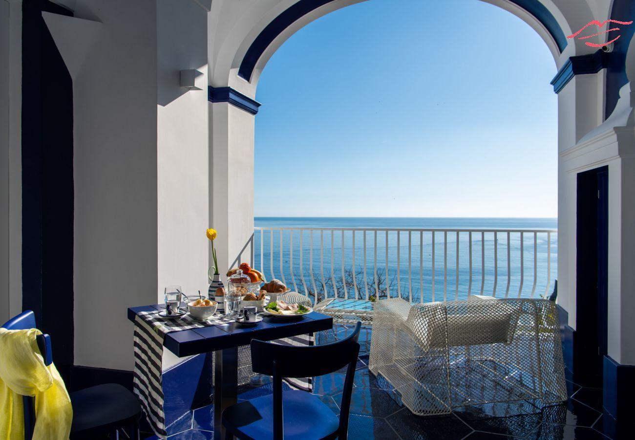 Villa in Positano - Villa Lepanto - Stunning view of Positano